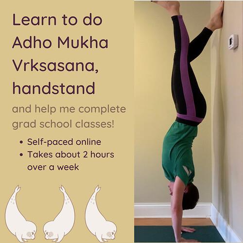 Handstand course